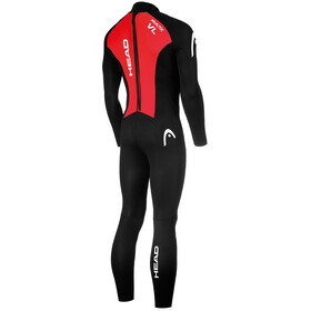 Head Multix VL Multisport 2,5 Traje Triatlón Hombre, black/red